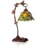 "Green Ivy Lamp 17"" $129.95"